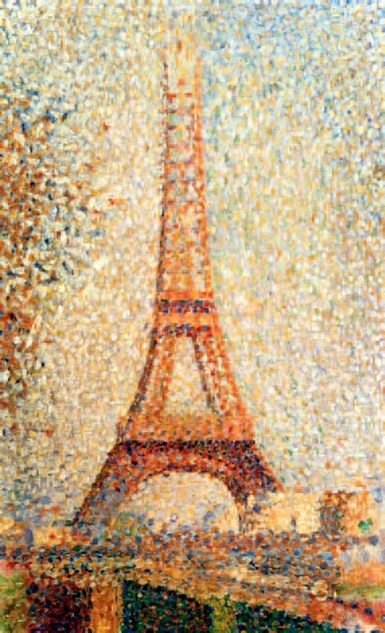 Georges Seurat Eiffel Tower Georges Seurat Eiffel Tower