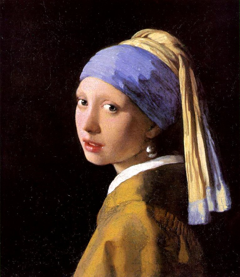 Johannes vermeer girl with a pearl earring 1665 1666