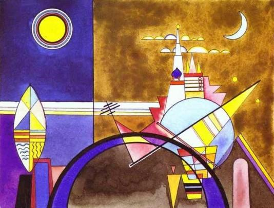Wassily Kandinsky - The Great Gate of Kiev - 1928
