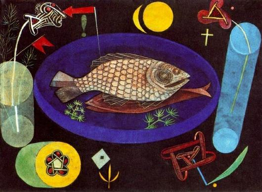 Paul Klee: Around the Fish - 1926