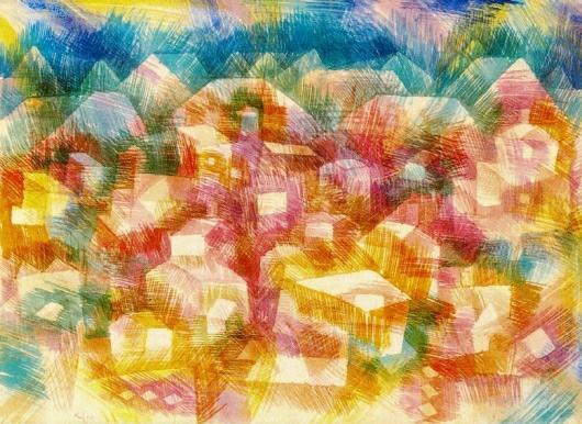 Artes plásticas, estética, y cuestiones afines II - Página 2 Klee-em