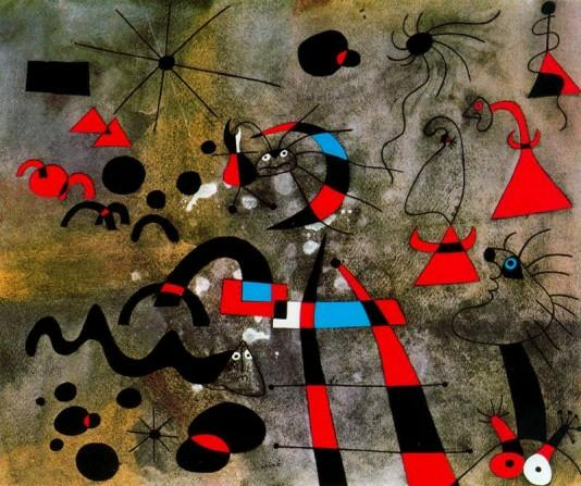Miro Famous Paintings