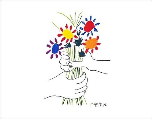 pablo picasso petite fleurs 1958
