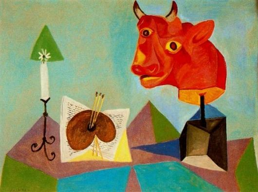 Famous Picasso Paintings Bull